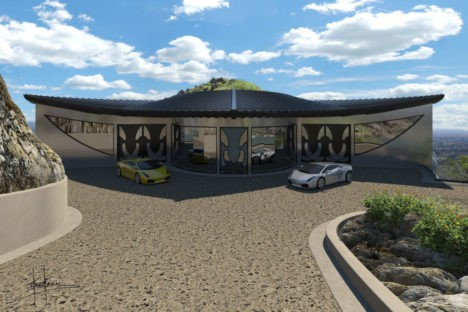mountaintop manta ray home arizona