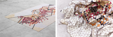 movable pieces wooden rugs