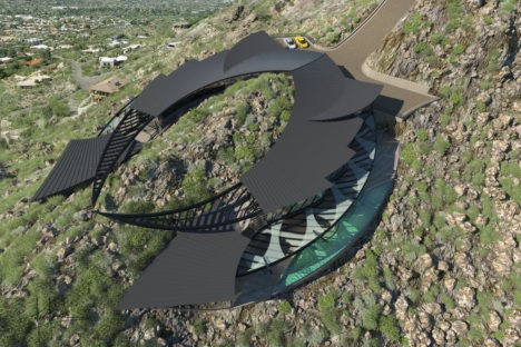 mummy mountain manta ray house