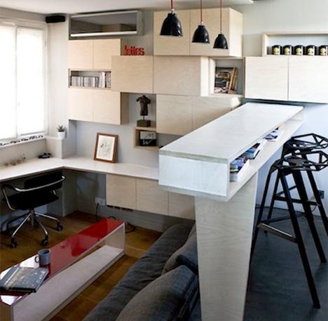 paris micro-apartment
