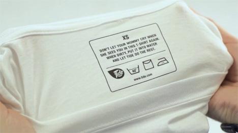 self washing shirt