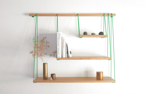 shelving wall mount