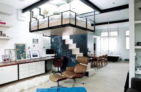 furniture deck. skylight bed furniture deck