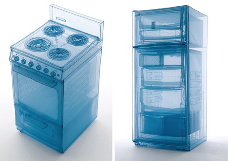 specimen polyester see through furniture kitchen