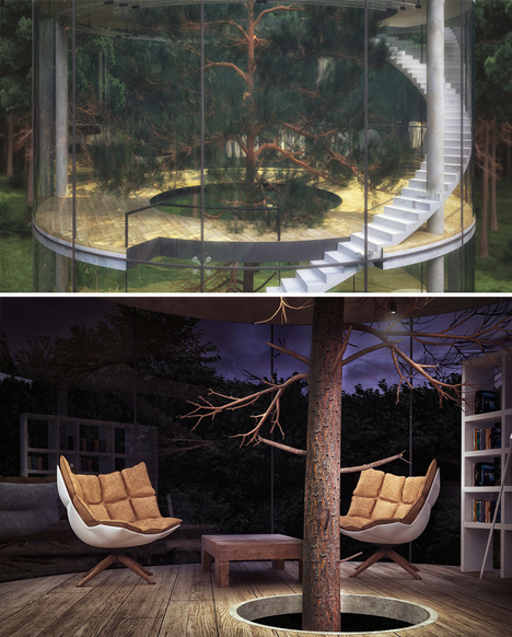 tree house concept renderings