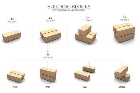 stunning prefab micro homes go together like lego bricks. Black Bedroom Furniture Sets. Home Design Ideas