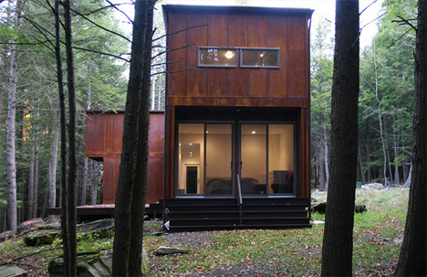 weehouse in the woods