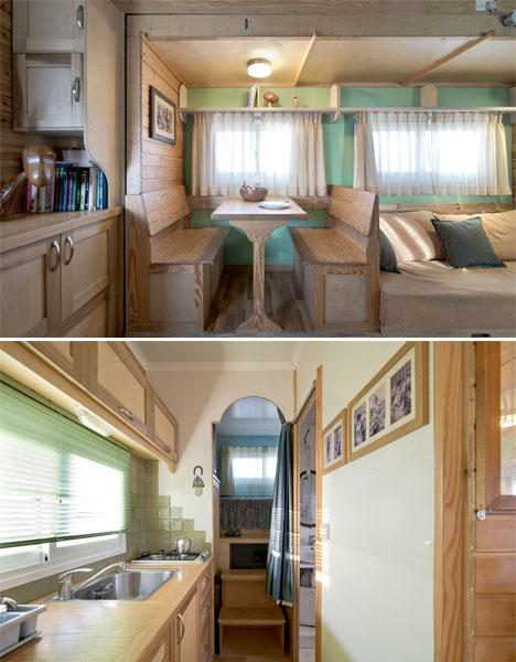 Converted Solar Truck Home 4