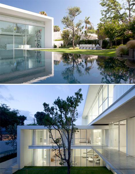 Double Courtyard Cube House 2