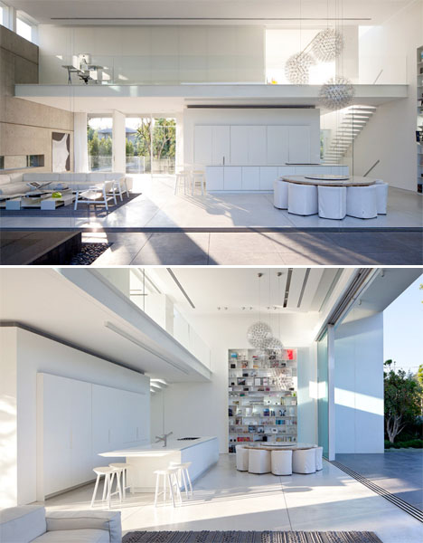 Double Courtyard Cube House 5