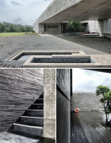 House Cast in Liquid Stone 3