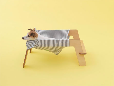 T-Shirt Dog Hammock 3
