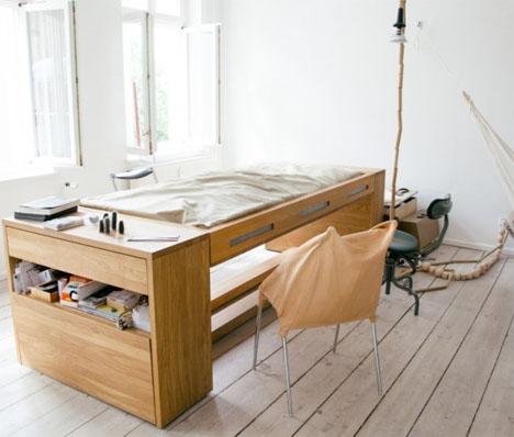 Transforming Workbed Desk 1