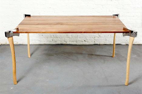 Woodsman Axe Table 1