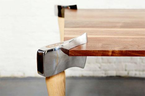 Woodsman Axe Table 2