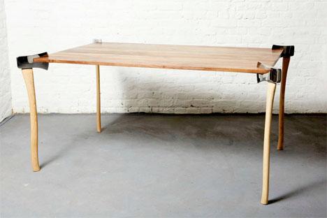 Woodsman Axe Table 4
