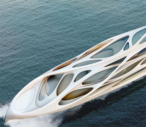 Zaha Hadid Superyacht 1