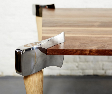 Woodsman Axe Coffee Table Inspired By The Big Bad Wolf