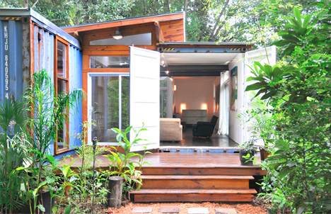 Two Box Home Simple Dwelling Of Dual Shipping Containers