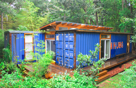 Two-Box Home: Simple Dwelling of Dual Shipping Containers