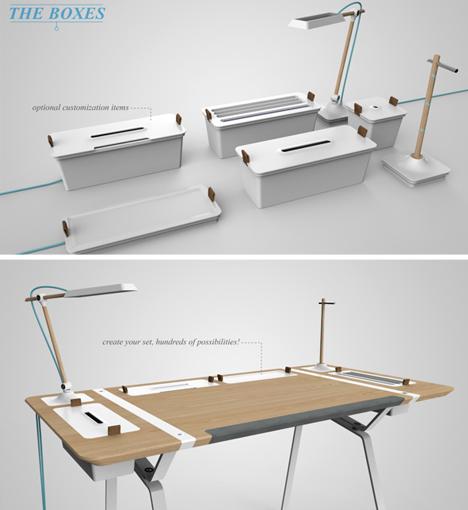 desk system modular design