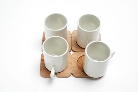 fin ceremonial tea set
