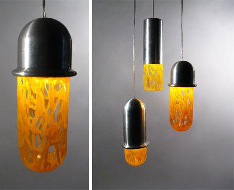 frozen plastic lamps