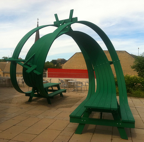 looping bench