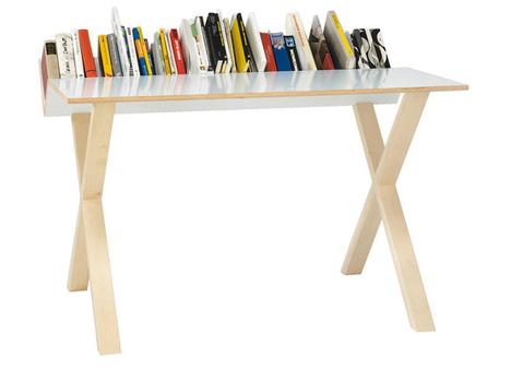 minimal bookshelf builtin