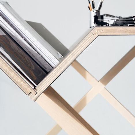 minimal desk detail