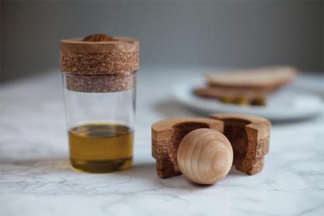 olive oil roll-on dispenser