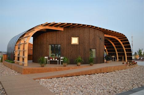 passive solar halo house