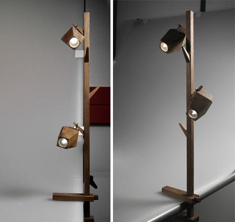portable pod clip lamps