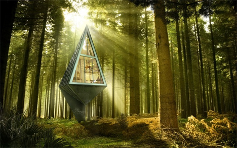 recyclable eco-friendly tree houses