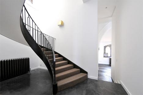 staircase in minimal surroundings