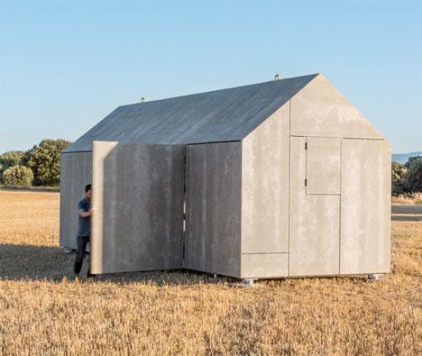 Cement Panel Portable House 1