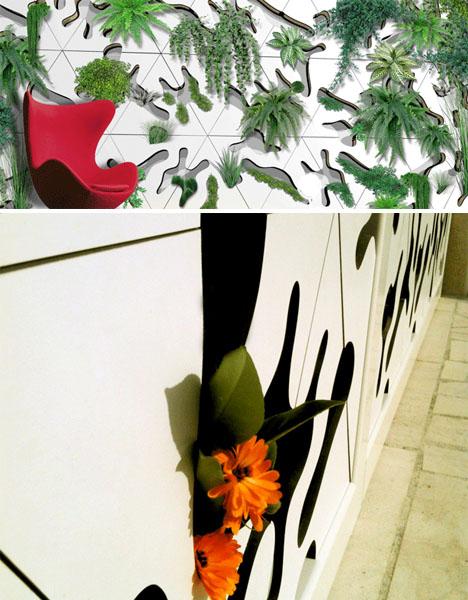 Deltaflore Modular Green Wall Tiles 3
