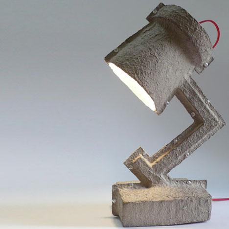 Egg Carton Lamps 1
