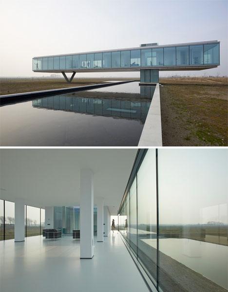 Hovering Glass Villa Self Sufficient 2