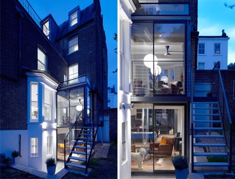 Modern Glass Addition London Home 2
