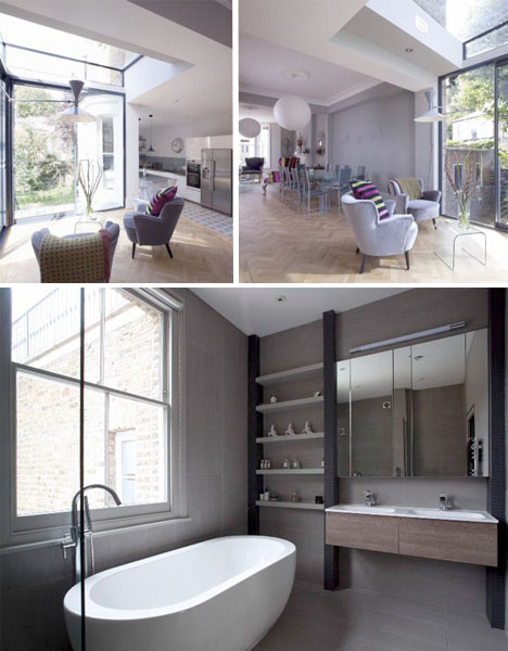 Modern Glass Addition London Home 5