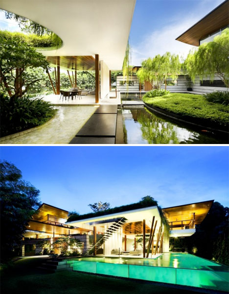 Willow House: Singapore Oasis Brings the Outdoors In