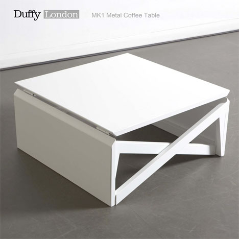 Clever Transforming Coffee Table Rises to New Heights