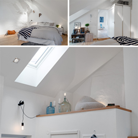 bedroom and loft