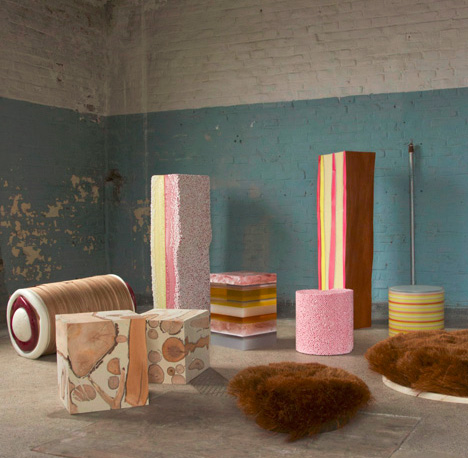 candy furniture confections