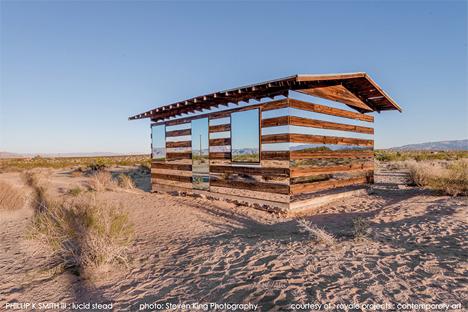 desert mirror house