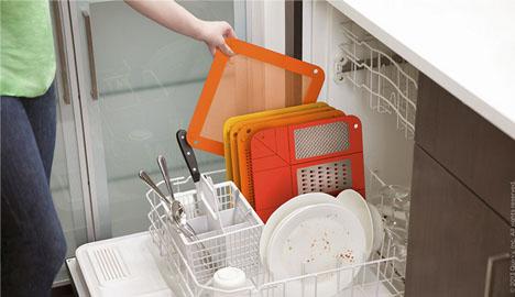 folding for dishwasher