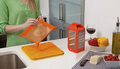 folding kitchen set