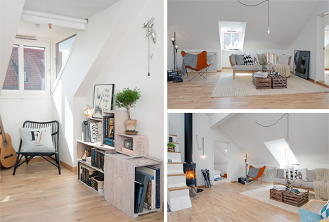 living space swedish apartment