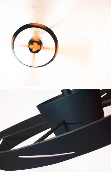 minimal fan slot detail